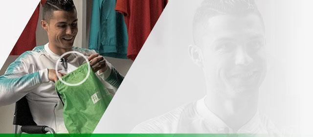 low priced 651ca b1af9 Unisport levererade ett par Nike fotbollsskor till Cristiano Ronaldo.